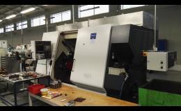 Sériová výroba na CNC strojích