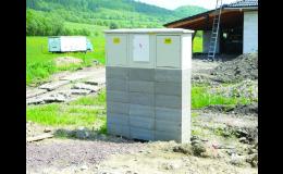 Skříně pro plyn a elektro