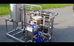 Technologické zařízení pro potravinářské a mlékárenské provozy