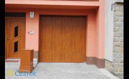 posuvná garážová vrata - Zlínský, Olomoucký kraj