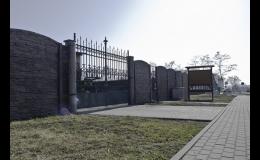 Betonzäune von einem hochwertigen tschechischen Hersteller - preiswert und in einem modernen Design
