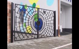 výroba kované brány - Zlínský kraj