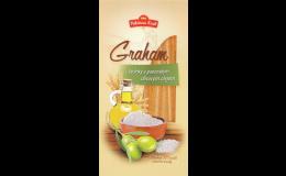 Grahamové tyčinky s olivovým olejem - to pravé pochutnání