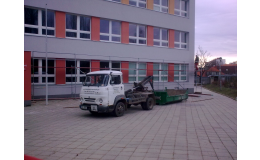 Přeprava stavebního materiálu, odpadu a suti, Moravský Krumlov