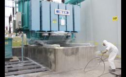 Rychlá aplikace hydroizolace staveb
