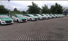 Návrhy a realizace designu firemních vozů