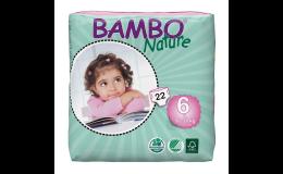 Detské plienky BAMBO NATURE - plienkové nohavičky s priedušným povrchom a suchým zapínaním