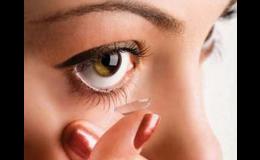 Aplikace měkkých kontaktních čoček