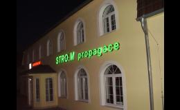 Výroba reklamních světelných poutačů Praha