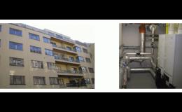 Výstavba nových kotelen a zdrojů tepla