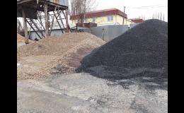 Kontejnerová autodoprava s hydraulickou rukou