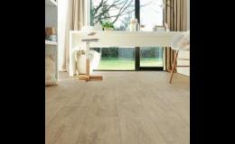 dřevěné dubové podlahy - vícevrstvé