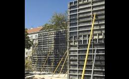 Stěnové bednění LOGIK 50 Ostrava