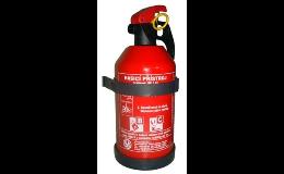 Výhodný hasicí přístroj 1kg třeba do auta