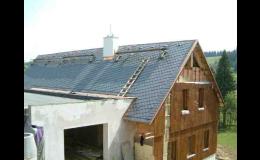 Opravy a rekonstrukce šikmých střech