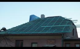 Střecha realizace