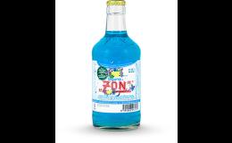 Nealkoholické nápoje v tradiční skleněné vratné lahvi