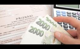 Daňové přiznání - zpracování