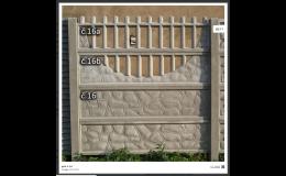 Hochwertiger und sicherer Betonzaun für Ihr Familienhaus von einem tschechischen Hersteller