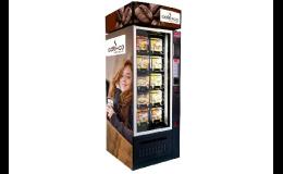 Prodej a pronájem automatů na jídlo, svačiny, obědy