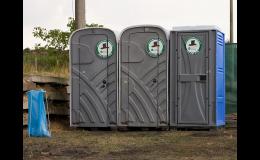 Pronájem a servis mobilních toalet