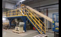 Montáž ocelové konstrukce a schodiště Brno