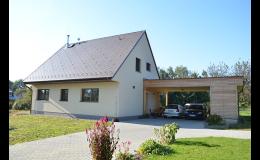 Rekonstrukce fasády rodinného domu Ostrava, Opava