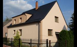 Zateplení fasády rodinného domu Ostrava, Opava