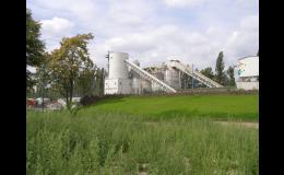 Výrobu betonu s důrazem na ochranu životního prostředí