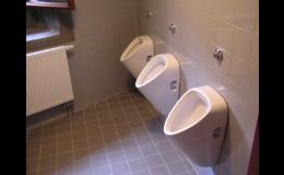 Vodoinstalační práce, koupelny