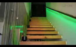 Inteligentní domy LOXONE - realizace, montáž