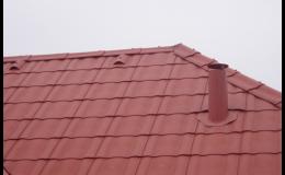 Stavba šikmé sedlové střechy Ostrava