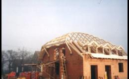 Rekonstrukce šikmé sedlové střechy Ostrava
