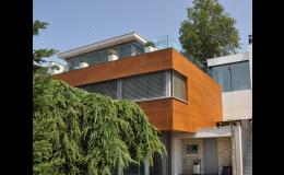 Fasádní dřevěné obklady na Váš dům