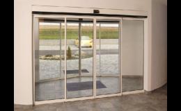 Automatické dveře firmy TRIDO