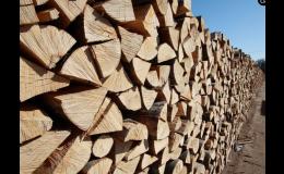 Palivové dřevo na prodej - velkoobchod Znojmo