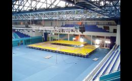Hliníkové konstrukce pro sportovní halu