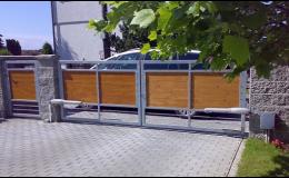 montáž, servis a opravy - křídlové brány