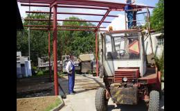 Ocelové konstrukce Jičín – výroba ocelových hal a konstrukcí