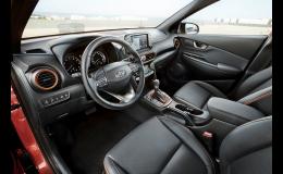 Interiér vozu Kona Hyundai