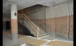 Detaily interiéru vytvořené barevnými betony COLORCRETE