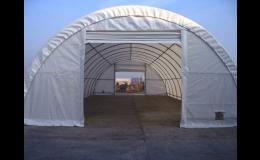 Zemědělské montované plachtové přístřešky pro uskladnění sena a plodin