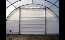 Zemědělské montované plachtové přístřešky