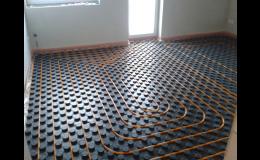 Podlahové vytápění Hradec Králové