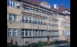 Půjčovna stavebního nářadí a lešení, mobilní hliníková věž