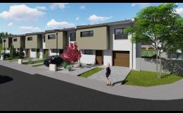 Rodinné domy - výstavba - 3D vizualizace