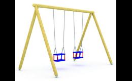 houpačka na dětské hřiště - výroba