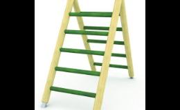 dřevěný žebřík na dětské hřiště - výroba