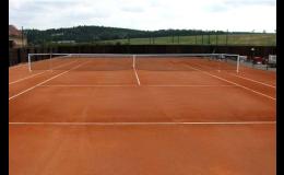Kvalitní povrchy pro tenisové kurty