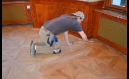 Odborná renovace podlah